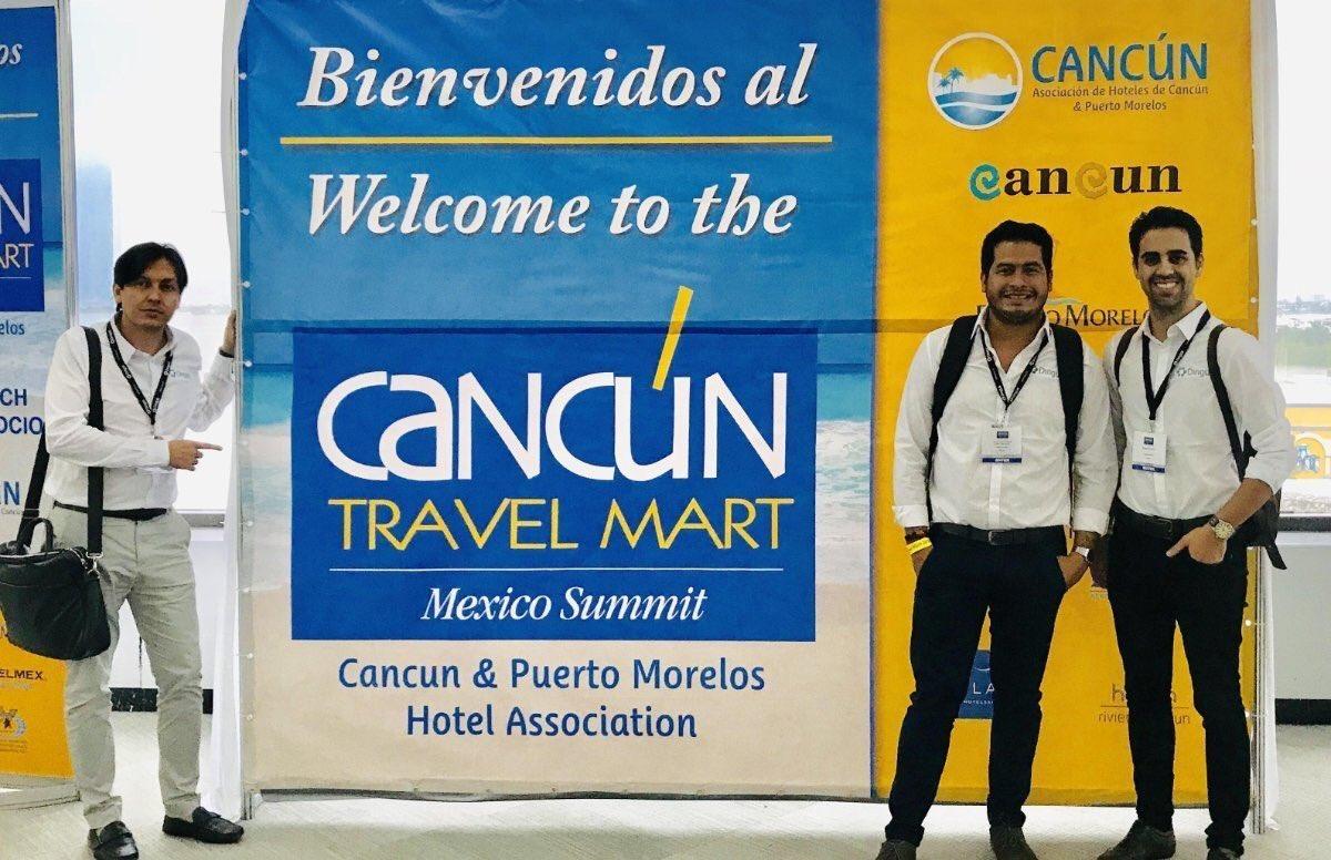 Nuestro equipo Dingus México, presente en la Cancún Travel Mart 2018