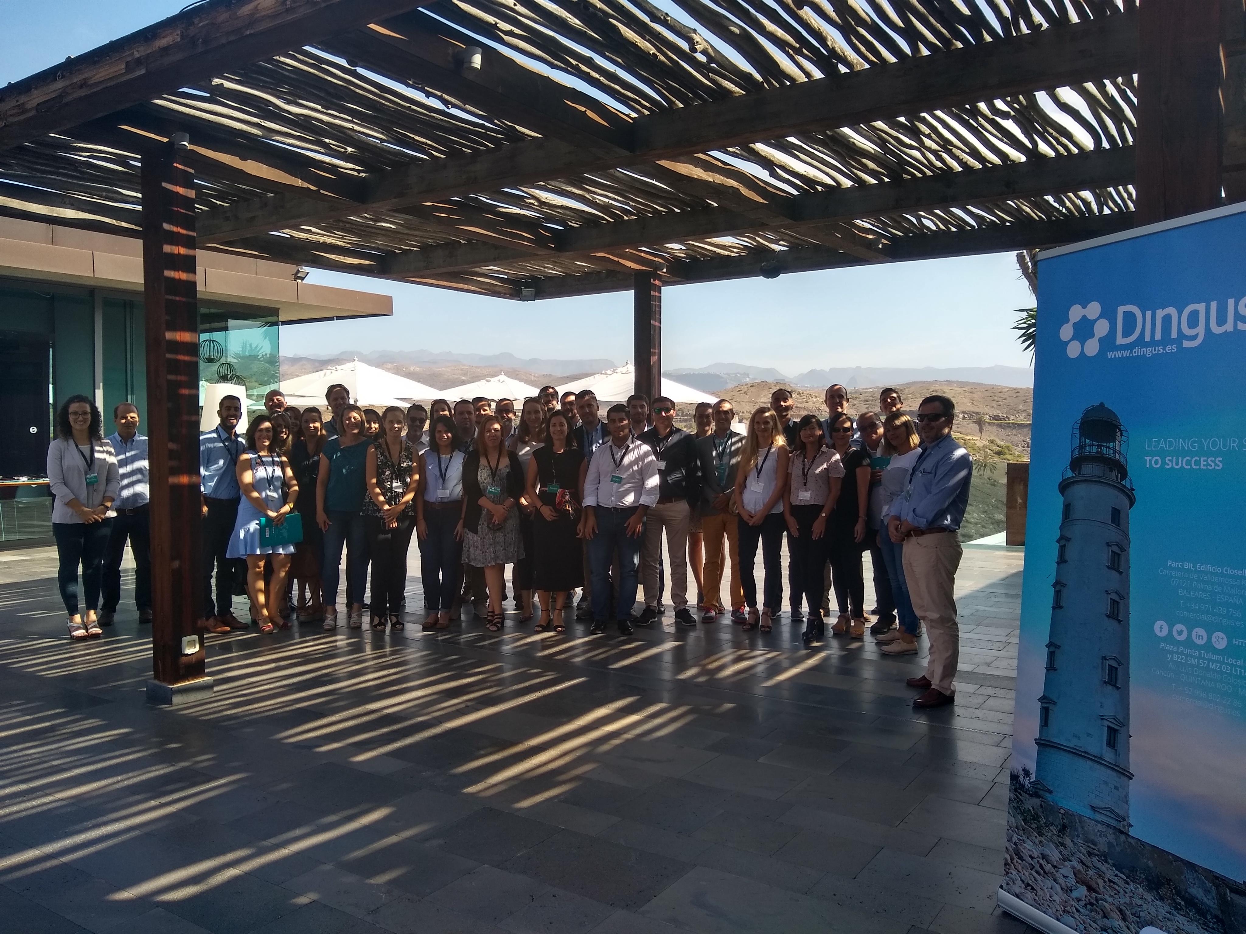 Nuestra marca Dingus presenta el futuro de su tecnología a los hoteles de Gran Canaria